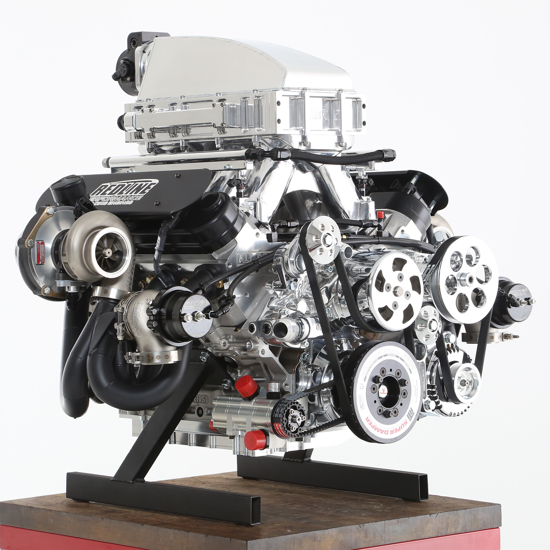 ls dry sump systems dailey engineeringphoto redline performance racing engines